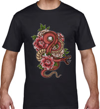 Load image into Gallery viewer, GRAPHIC TEE -  SNAKE TATTOO