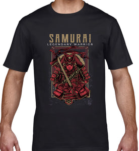 GRAPHIC TEE -  SAMURAI LEGEND RED