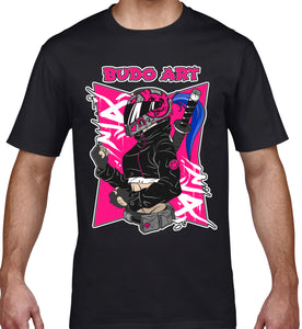 GRAPHIC TEE -  FEMALE BUDO BIKIE
