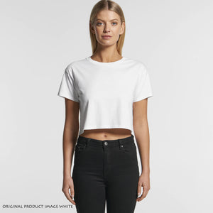 KARATE DO - STYLED KANJI - WOMEN'S 4062 CROPPED TEE