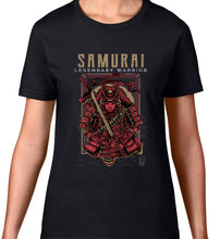 Load image into Gallery viewer, GRAPHIC TEE -  SAMURAI LEGEND RED