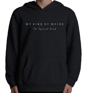 MY KIND OF WEIRD - SCATTERED MAN - Kids & Youth Hoodie