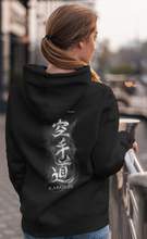 Load image into Gallery viewer, KARATE DO - STYLED KANJI  - WOMEN'S PREMIUM 4120 HOODIE