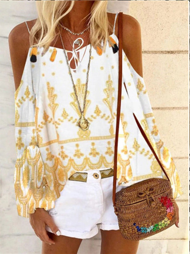 Casual Loose Lace Sleeveless Shirt Top