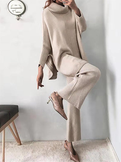 Loose Casual Sweater Set
