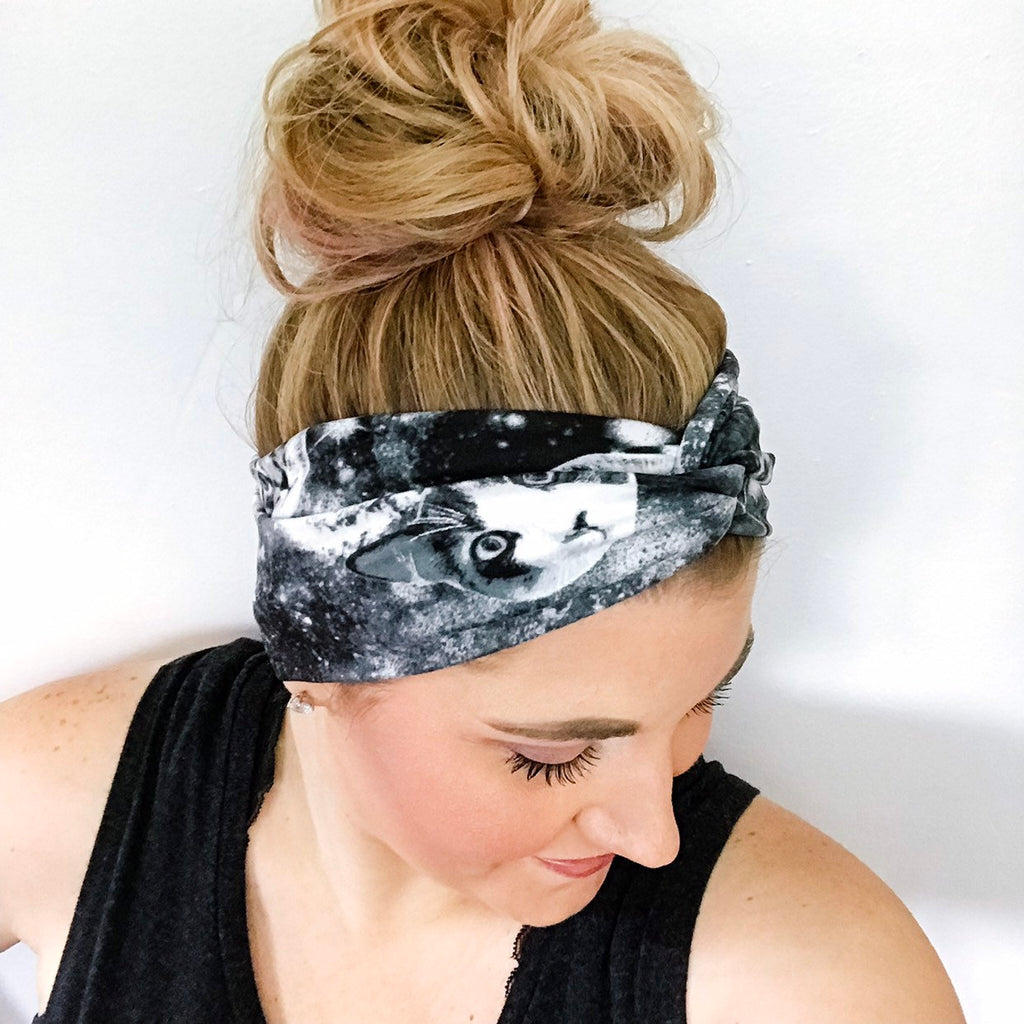 Galaxy Cats Turban Headband
