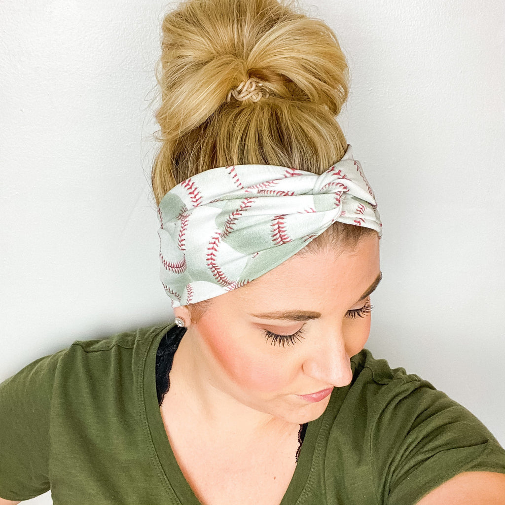Baseball Turban Headband