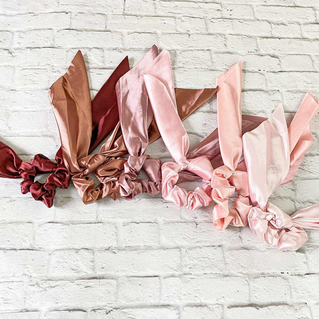 Choice Of Satin Scarf Scrunchie