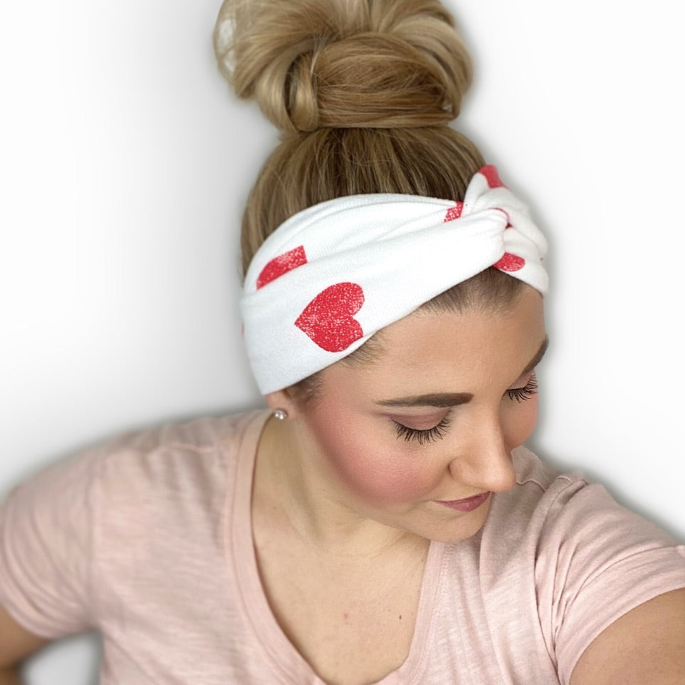 Valentine's Day Twist Turban Headband