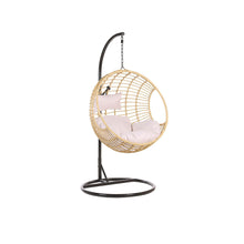 Load image into Gallery viewer, Zorora Rattan Hanging Chair With Stand. Shop Simple.furniture.