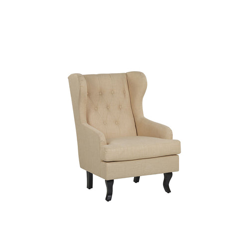 Teukai Fabric Wingback Chair. Shop Simple.furniture.