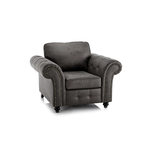 Sunningdale Faux Leather Armchair - Simple.furniture