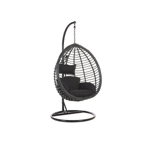 Zororo Garden Hanging Chair With Stand - Simple.furniture