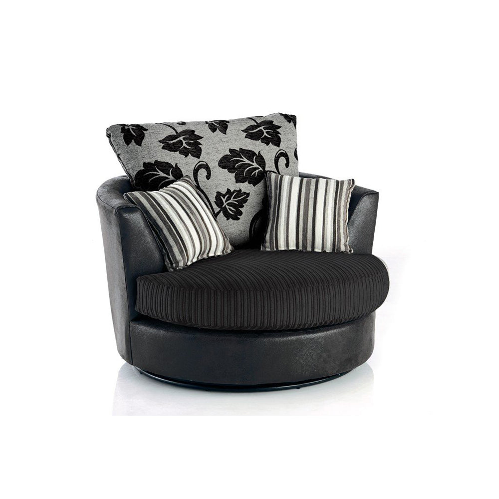 Lonnah Swivel Chair - Simple.furniture
