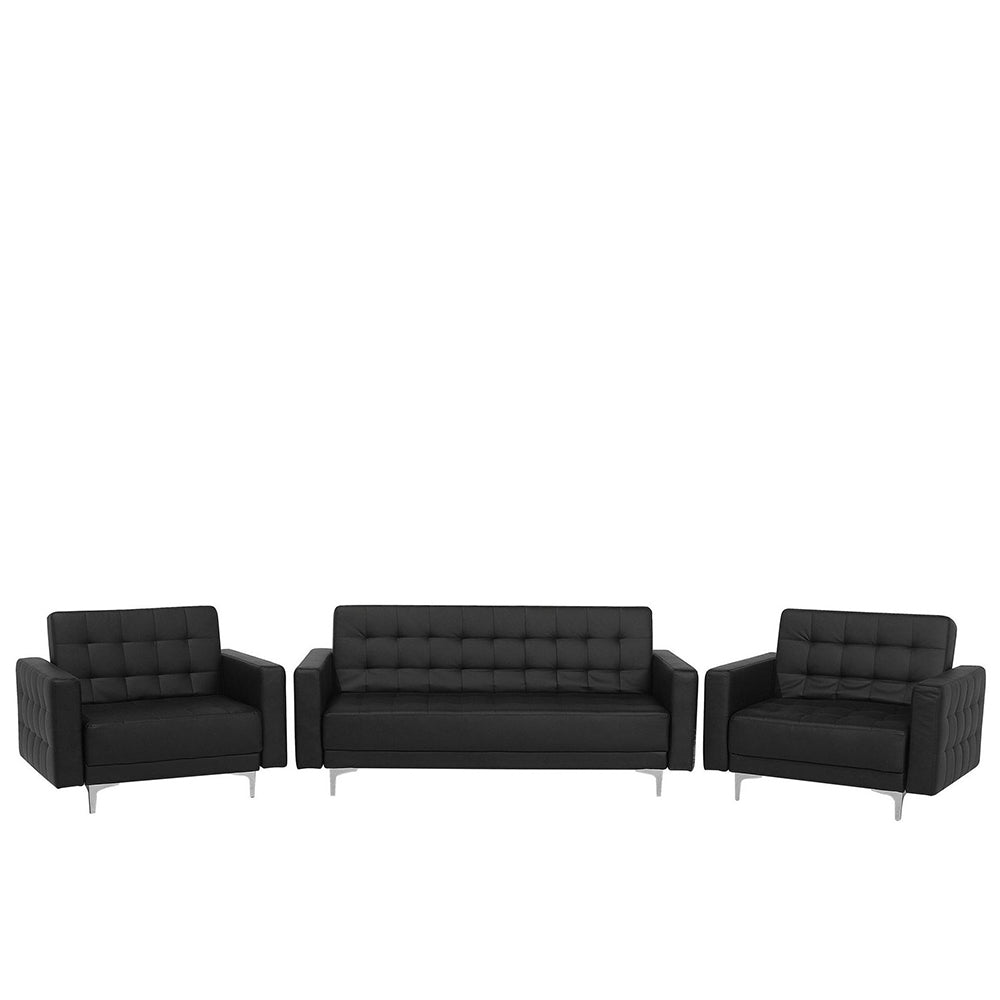Northwood Faux Leather Living Room Set. Shop Simple.furniture.