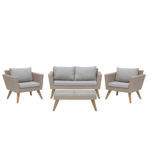 Load image into Gallery viewer, Woodville Garden Sofa Set