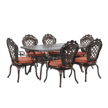 Load image into Gallery viewer, Lynne 6 Seater Garden Dining Set. Shop Simple.furniture.