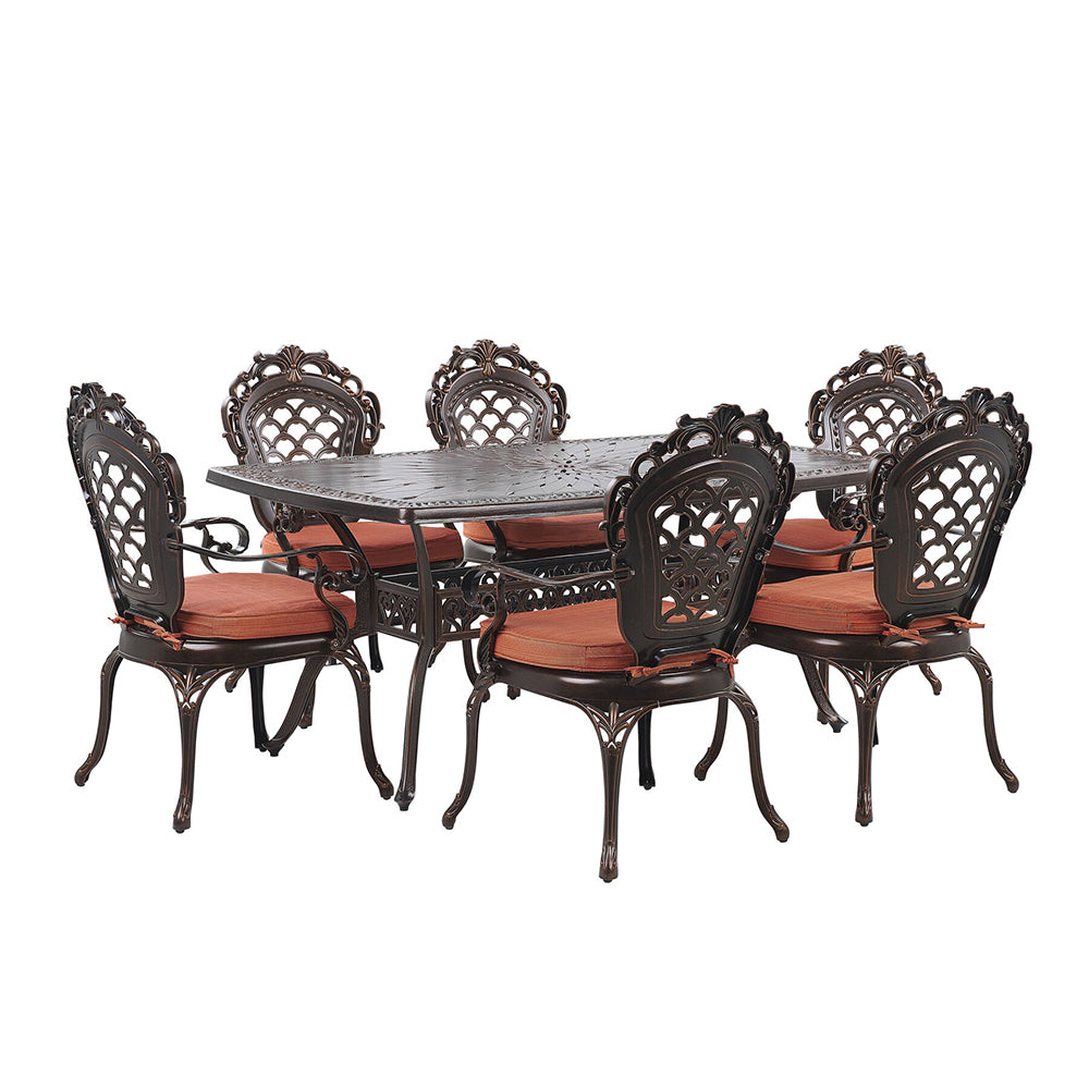 Lynne 6 Seater Garden Dining Set. Shop Simple.furniture.