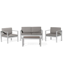 Load image into Gallery viewer, Kudzanai 4 Seater Garden Sofa Set. Shop Simple.furniture.