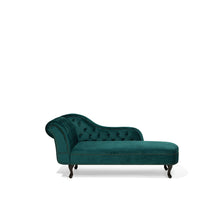 Load image into Gallery viewer, Rapata Velvet Chaise Longue. Shop Simple.furniture.