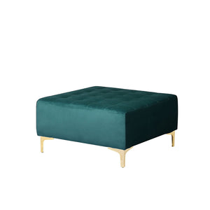 Northwood Velvet Ottoman. Shop Simple.furniture.