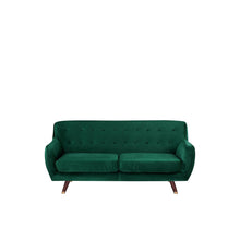 Load image into Gallery viewer, Fungisai Velvet 3 Seater Sofa. Shop Simple.furniture.