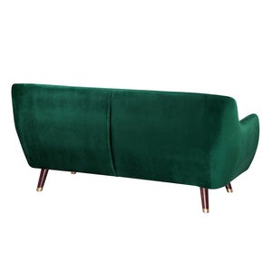 Fungisai Velvet 3 Seater Sofa. Shop Simple.furniture.