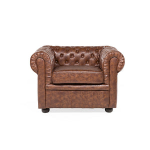 Chester Faux Leather Armchair. Shop Simple.furniture.