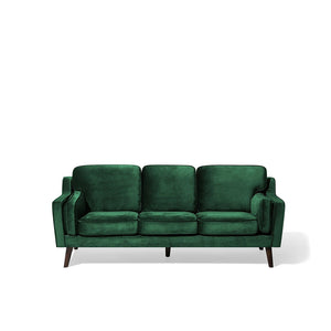 Netsayi 3 Seater Velvet Sofa. Shop Simple.furniture.