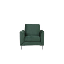 Load image into Gallery viewer, Rudorwashe Velvet Armchair. Shop Simple.furniture.