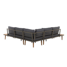 Load image into Gallery viewer, Rukukwe 5 Seater Garden Sofa Set - Simple.furniture