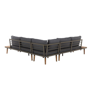 Rukukwe 5 Seater Garden Sofa Set - Simple.furniture