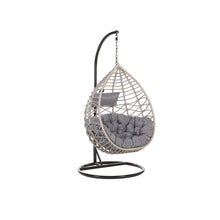 Load image into Gallery viewer, Zororayi Rattan Hanging Chair With Stand. Shop Simple.furniture.