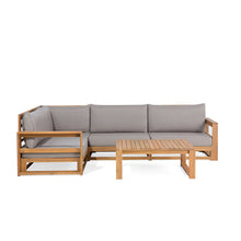 Load image into Gallery viewer, Runhare 5 Piece Garden Sofa Set - Simple.furniture