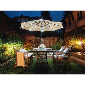 Fourth Garden Parasol With Led Lights. Shop Simple.furniture.