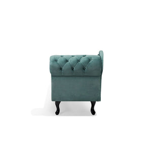 Rapata Velvet Chaise Longue. Shop Simple.furniture.