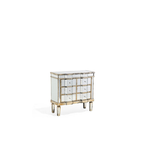 Dzidzai 6 Drawer Mirrored Sideboard. Shop Simple.furniture.