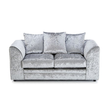 Load image into Gallery viewer, Tarriro Crushed Velvet Sofa Suite. Shop Simple.furniture.