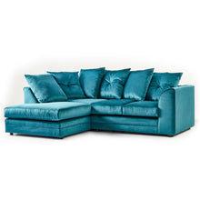 Load image into Gallery viewer, Belvedere Soft Velvet Corner Sofa - Simple.furniture