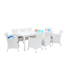 Load image into Gallery viewer, Everest 8 Seater Garden Dining Set. Shop Simple.furniture.