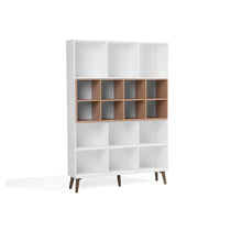 Load image into Gallery viewer, Pebasa Bookcase. Shop Simple.furniture.
