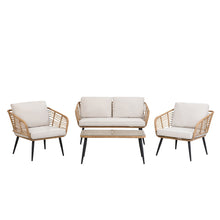 Load image into Gallery viewer, Kwekwe 4 Seater Garden Sofa Set