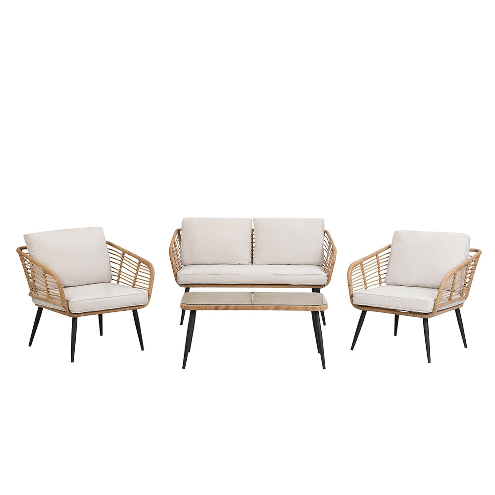 Kwekwe 4 Seater Garden Sofa Set