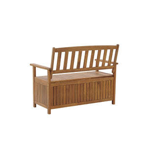 Northlea Acacia Wood Garden Bench with Storage