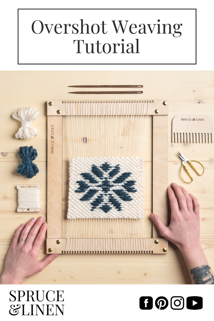 Overshot Weaving Tutorial + PDF Pattern