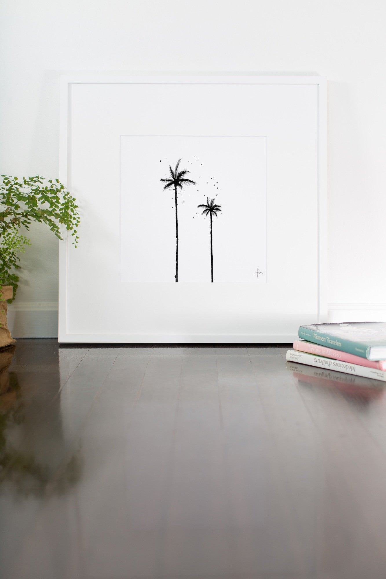 How to grow palm trees with a drop of ink