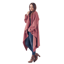 Load image into Gallery viewer, OLGA POKRYWKA - Dusty Pink Blanket Jacket - Yuugen Store