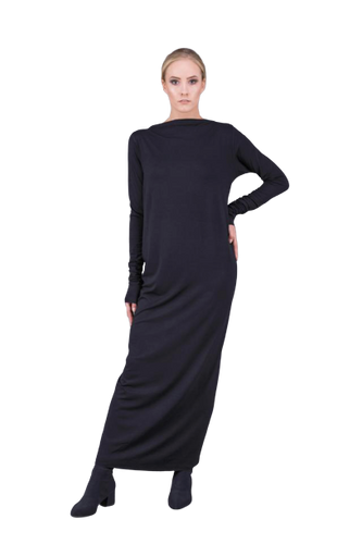 PUDU - Draped Dress - Yuugen Store