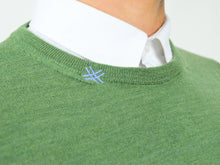 Load image into Gallery viewer, FORTUNALE - ALFA Men's Wool Sweater / Grass Green
