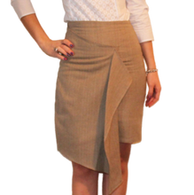 Load image into Gallery viewer, RADINA RADEVA - Draped Pencil Skirt